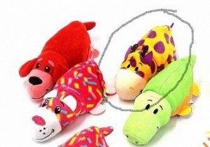 Мягкая игрушка-вывернушка флип зоопарк 15 см 1309-10