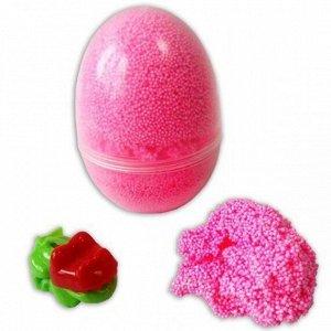 Набор ДТ Шариковый пластилин Яйцо розовый 175мл  Р0836