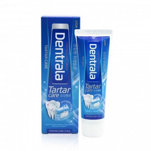 LION Антибактериальная зубная паста для профилактики против образования зубного камня «Dentrala Tartar», 120 гр