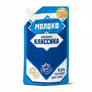 """""""Любимая классика"""" Молоко цельн. сгущ. с сахаром Дойпак 270г ГОСТ 1/12, шт"""