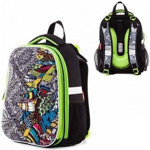 Рюкзак ERGONOMIC Doodle Art 37х29х17 см 21013 Hatber