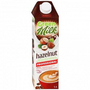 Professional Green Milk Hazelnut Напиток из фундука на рисовой основе 1л ( 1/12)