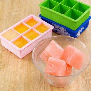 Форма для льда - кубы льда (6 ячеек)