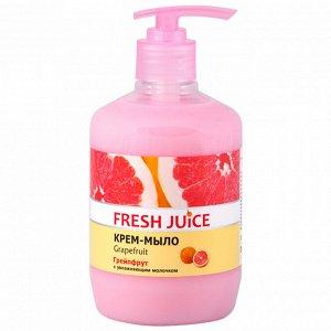 Fresh Juice Жидкое  крем-мыло с увлажняющим молочком Grapefruit (грейпфрут), 460 мл Фд/116654