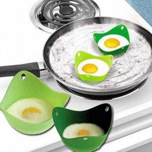 Силиконовая форма для приготовления яичницы, в ассортименте