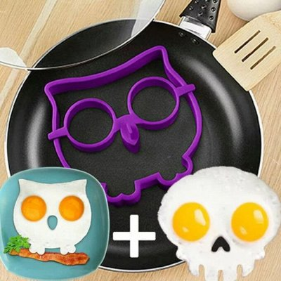 Бери&Пеки - Современные решения для домашней выпечки 🍰 — Силиконовая форма для приготовления яичницы — Выпечка