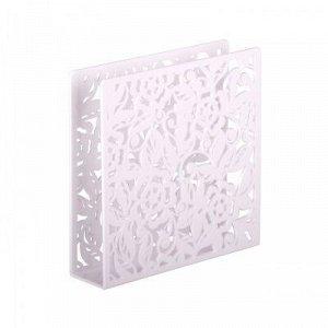 Салфетница Салфетница [БРИСТОЛЬ] БЕЛЫЙ.hСалфетница - это отличный аксессуар на каждый день, сочетающий в себе привлекательный дизайн и необходимую практичность. Выполнена из высококачественного пласти