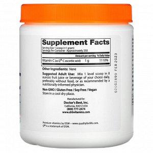 Doctor's Best, Витамин C в порошке, с Quali-C, 8,8 унции (250 г)