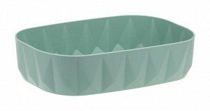 Мыльница Мыльница [ПРИЗМА] МОРСКАЯ ВОЛНА.Предлагаем Вашему вниманию мыльницу ПРИЗМА!  Стильный аксессуар для хранения мыла. Пластик высокого качества, из которого выполнено изделие, обеспечивает прост