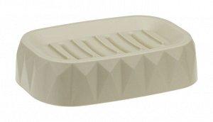 Мыльница Мыльница [ПРИЗМА] ЛАТТЕ.Предлагаем Вашему вниманию мыльницу ПРИЗМА!  Стильный аксессуар для хранения мыла. Пластик высокого качества, из которого выполнено изделие, обеспечивает простоту в ух