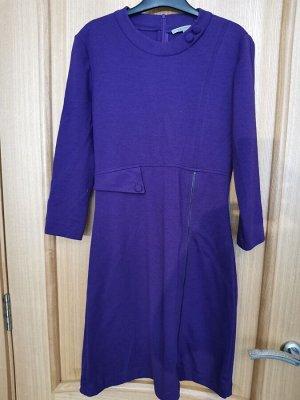Платье сиреневый трикотаж