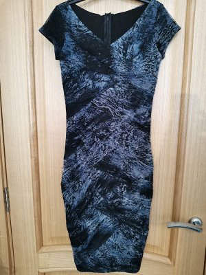Платье драпировка