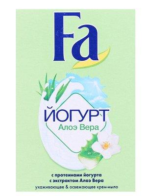 Крем-мыло кусковое FA Йогурт Алое Вера, 90 гр