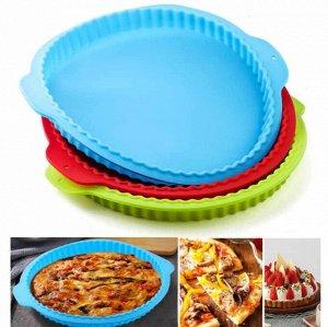 Силиконовая форма для пиццы, в ассортименте