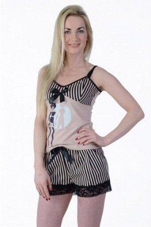 Пижама женская ML-Чикаго(шорты)