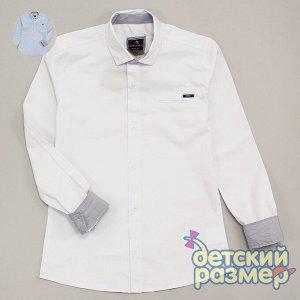 Рубашка Размерный ряд: 140, 146, 152; Соответствие размерам: больше; Кол-во штук в уп: 3; Состав: 97% хлопок, 3% лайкра; Ткань: текстиль; Производитель: Турция; Фабрика: Cegisa Рубашка с длинным рукав