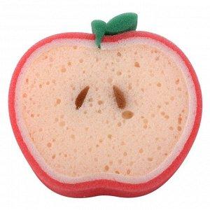 """Мочалка """"Яблочная долька"""""""