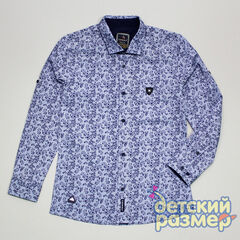 Рубашка 95% хлопок, 5% эластан