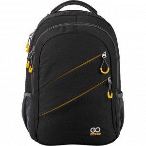 Рюкзак GO20-110XL-1 Черный/Желтый