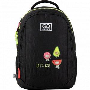 Школьный рюкзак GO20-133M-1 Черный