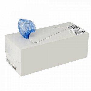 Бахилы КОМПЛЕКТ 2000 шт. (1000 пар) в упаковке, СТАНДАРТ, размер 39х15 см, 22 мкм, 3 г, ПНД, LAIMA, 630718