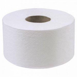 3 Бумага туалетная 200м, LAIMA (T2), ADVANCED, 1-слойная, цвет белый, КОМПЛЕКТ 12 рулонов, 126093