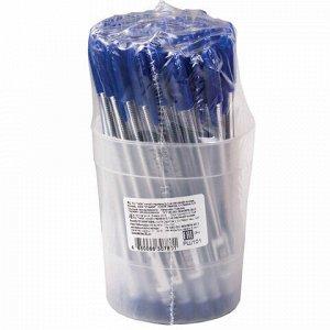 """Ручка шариковая масляная СТАММ """"VeGa"""", СИНЯЯ, корпус прозрачный, узел 1,2 мм, линия письма 0,7 мм, РШ101"""
