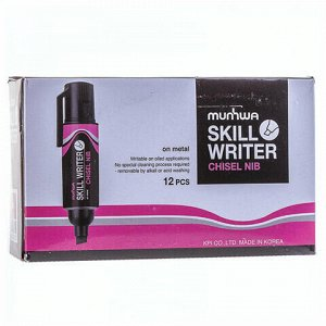"""Маркер для промышленной маркировки MUNHWA """"Skill Writer"""", РОЗОВЫЙ, 8 мм, на спиртовой основе, SW-10"""