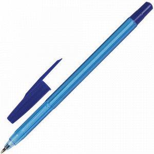 """Ручка шариковая масляная BRAUBERG """"Assistant"""", СИНЯЯ, корпус тонированный, 0,7 мм, линия письма 0,35 мм, 142484"""