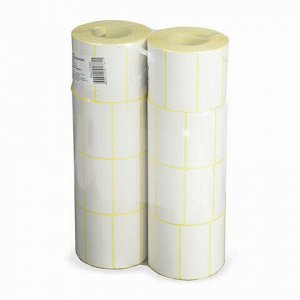 Этикетка ТермоЭко (58х30 мм), 900 этикеток в ролике, светостойкость до 2 месяцев, 122065