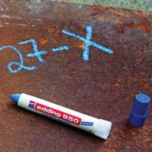 """Маркер-паста для промышленной маркировки EDDING """"950"""", БЕЛЫЙ, 10 мм, E-950/49"""