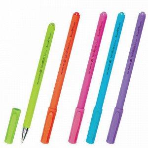 """Ручка шариковая BRUNO VISCONTI """"SlimWrite"""", """"Special"""", СИНЯЯ, корпус ассорти, узел 0,5 мм, линия письма 0,3 мм, 20-0007"""