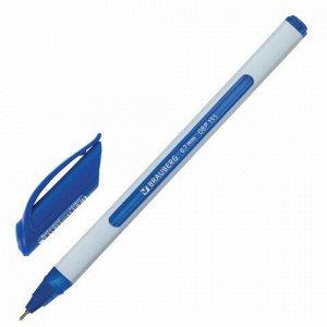 "Ручка шариковая масляная BRAUBERG ""Extra Glide Soft White"", СИНЯЯ, узел 0,7 мм, линия письма 0,35 мм, 142927"