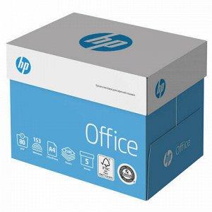 Бумага офисная HP OFFICE, А4, 80 г/м2, 500 л., марка В, ColorLok, International Paper, белизна 153%