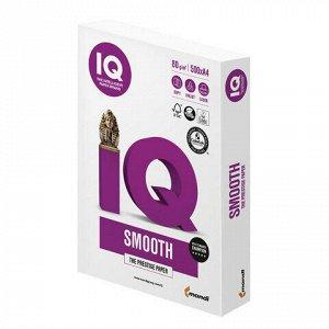 Бумага офисная IQ SMOOTH, А4, 80 г/м2, 500 л., марка А+, Mondi, белизна 170%