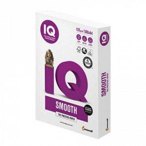 """Бумага IQ SMOOTH, А4, 120 г/м2, 500 л., класс """"А+"""", Австрия, белизна 170% (CIE)"""