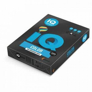 Бумага цветная IQ color, А4, 80 г/м2, 500 л., интенсив, черная, В100