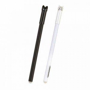 """Ручка фигурная шариковая CENTRUM """"Cat"""", СИНЯЯ, корпус ассорти, узел 0,7 мм, дисплей, 80754"""
