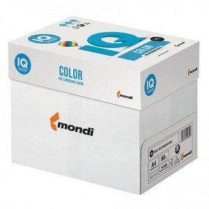 Бумага цветная IQ color, А4, 80 г/м2, 500 л., тренд, серая, GR21