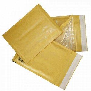 Конверт-пакеты с прослойкой из пузырчатой пленки (250х350 мм), крафт-бумага, отрывная полоса, КОМПЛЕКТ 10 шт., G/4-G.10