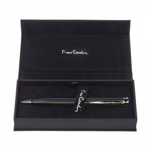 """Ручка подарочная шариковая PIERRE CARDIN (Пьер Карден) """"Tresor"""", корпус черный, латунь, лак, синяя, PC1001BP-03"""