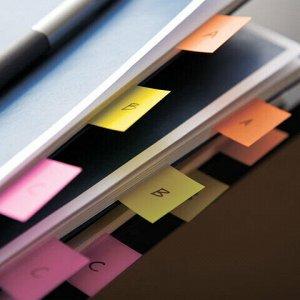 Закладки клейкие POST-IT Study, пластиковые, 12 мм, 4 цвета х 24 шт., 683-4S-RU