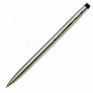 """Ручка подарочная шариковая PIERRE CARDIN (Пьер Карден) """"Gamme"""", корпус латунь, никель, золотистые детали, синяя, PC0811BP"""