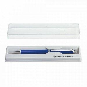 "Ручка подарочная шариковая PIERRE CARDIN ""Crystal"", корпус синий, латунь, хром, синяя, PC0707BP"