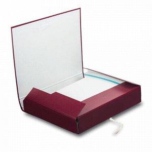 Папка для бумаг архивная А4 (225х310 мм), 85 мм, 2 завязки, бумвинил, до 700 листов, 120298