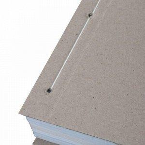 Крышки переплетные картонные для прошивки документов А4, 305х220 мм, комплект 100 шт.
