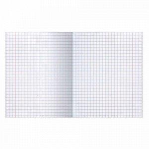 Тетрадь ВЕЛИКИЕ ИМЕНА. Архимед, 12 л. крупная клетка, плотная бумага 80 г/м2, обложка тонированный офсет, BRAUBERG, 105715