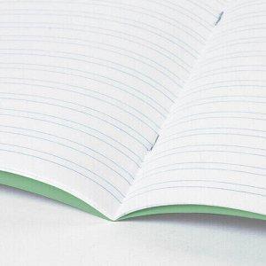 Тетрадь ВЕЛИКИЕ ИМЕНА. Крылов И.А., 12 л. узкая линия, плотная бумага 80 г/м2, обложка тонированный офсет, BRAUBERG, 105717