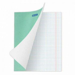 "Тетрадь BRAUBERG ""EXTRA"" 18 л., клетка, плотная бумага 80 г/м2, обложка картон, 105708"