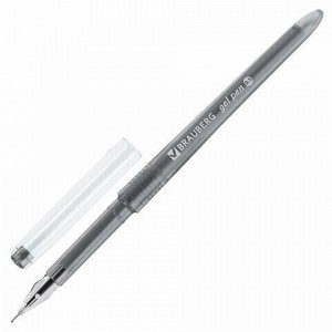 Ручки гелевые BRAUBERG DIAMOND, НАБОР 12 штук, АССОРТИ, узел в виде бриллианта 0,5 мм, линия письма 0,25 мм, 143377